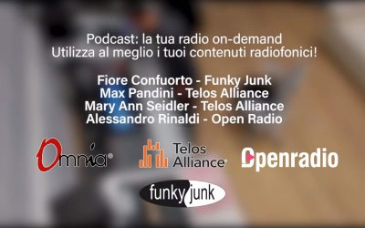 La tua radio on demand: un webinar di Funky Junk con Telos Alliance e Open Radio